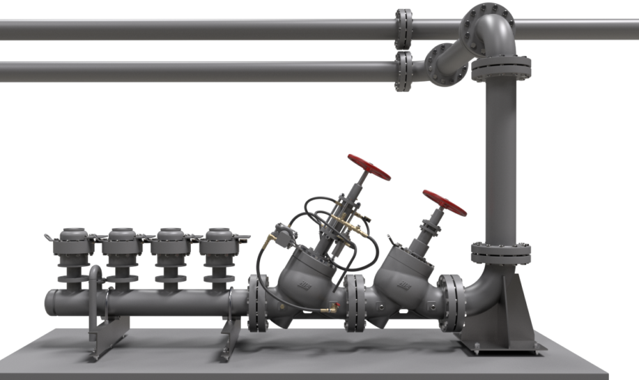 Surge Anticipation Valve System Hpe